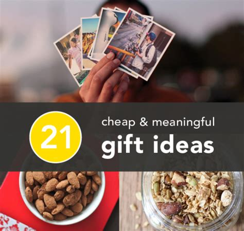 21 ways to give big hearted gifts on a small sized budget
