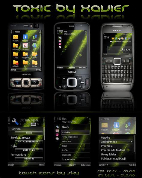 new themes s60 toxic symbian theme by xavier themes on deviantart