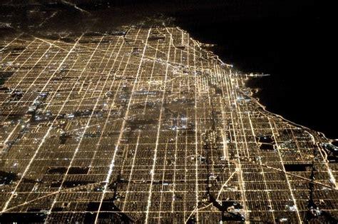 chicago light map chicago vue du ciel et de la terre skyscrapercity