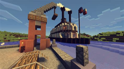 steam boat project steamboat minecraft project