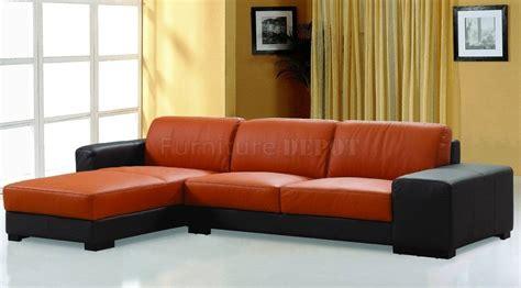 orange leather sofa bed burnt orange leather sofa bed gradschoolfairs com