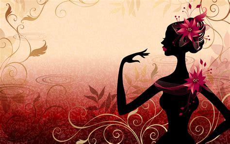 Wallpaper For Desktop Girl | vector girl wallpapers best wallpapers