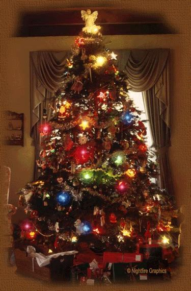 Twinkling Christmas Tree Pictures, Photos, and Images for