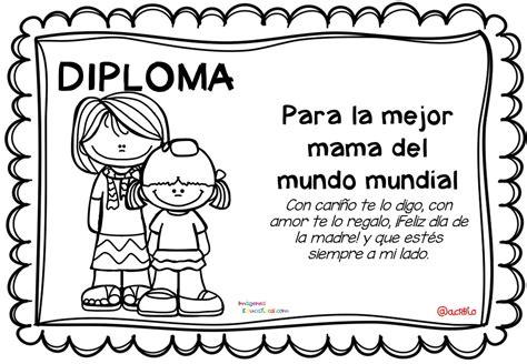 diplomas cristianos dia de la madre para imprimir diplomas para colorear del d 237 a de las madres 10 de mayo