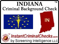 Indiana Arrest Records Free Pre Employment Criminal Background Check