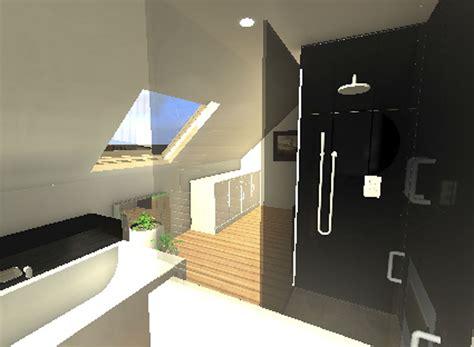 aménagement salle de bains 767 deco murale taupe
