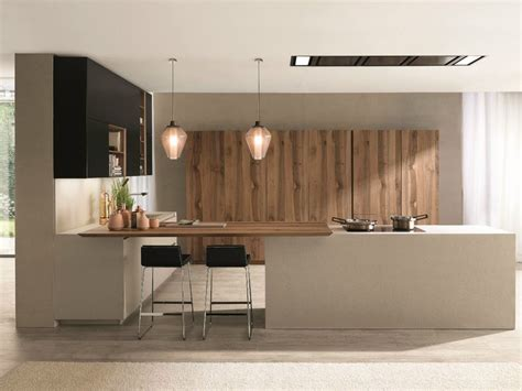 islanda cucina fitted kitchen with island filoantis by euromobil design