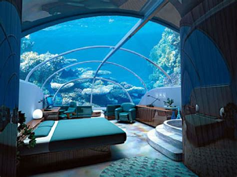 houses under water interior fantastic under water hotel room ideas great