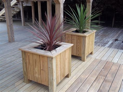 Wooden Planters by Timber Wooden Garden Planters