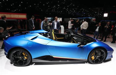 lamborghini huracan performante spyder unveiled performancedrive