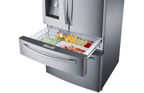 Samsung Flexzone Drawer by Samsung 28 15 Cu Ft 4 Door Door Refrigerator In