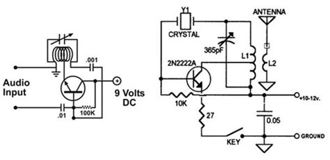 working of two transistor fm transmitter small low power disposable radios part 1 digikey