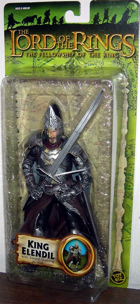 Toybiz Lord Of The Rings King Elendil Figure king elendil trilogy