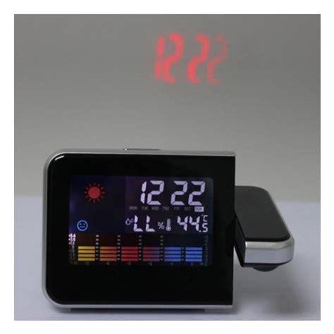 Jam Digital Sensor Unik jual jam meja led digital projector dilengkapi termometer unik murah tukura