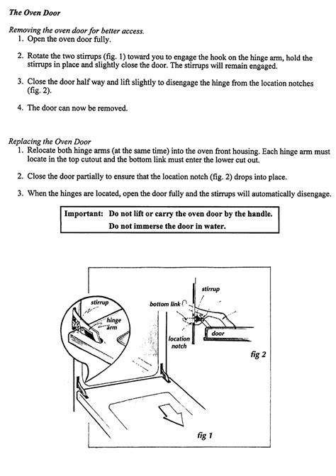 48153 Chef Oven Door Hinge Hinges Hinges Amp Springs