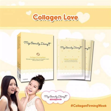 My Diary Collagen Firming Mask 5pcs collagen firming mask