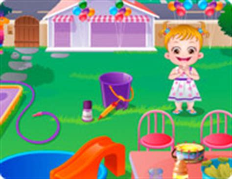 baby hazel backyard party baby hazel brushing time dress up gal