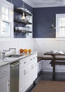Blue Kitchen Design by Navy Blue Kitchen Cabinets Design Decor Photos