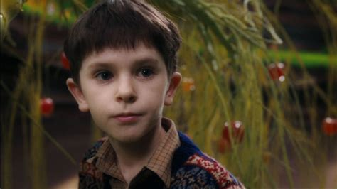 and the chocolate factory freddie highmore image
