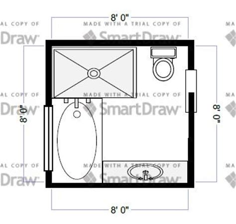 8 X 7 Bathroom Layout Ideas Bathroom Layout Idea 8x8
