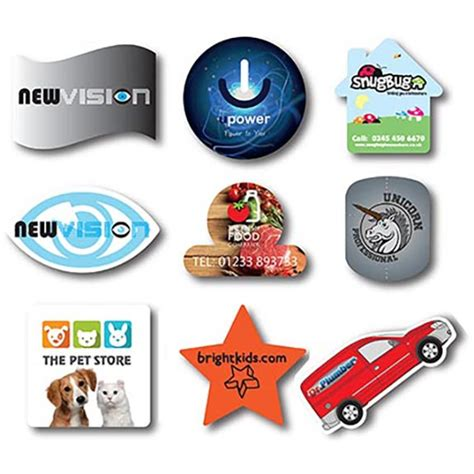 printable flexible magnets shaped flexible fridge magnets personalised badges and