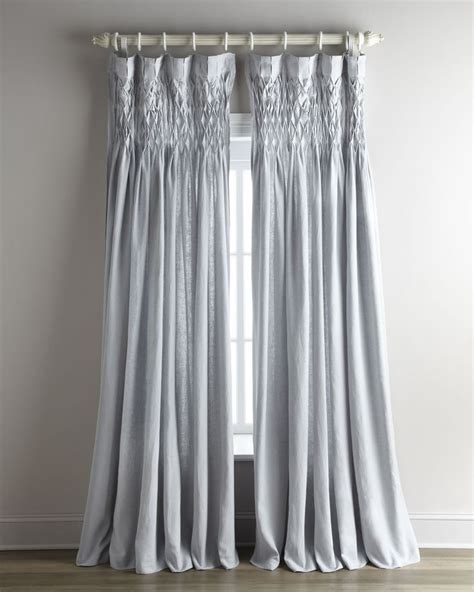smocked curtains 1000 ideas about linen curtains on pinterest curtains