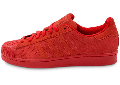 superstar rouge adidas superstar suede rouge chaussures homme chausport