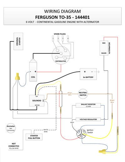 echlin voltage regulator wiring diagram ford external