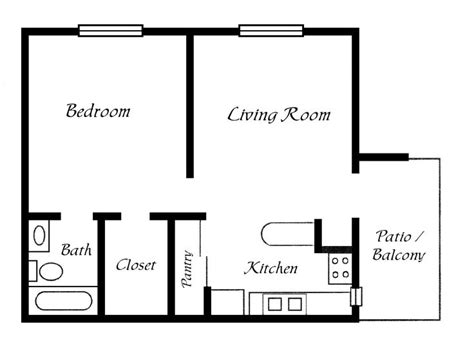 Simple Cottage Plans by 17 Best Ideas About Simple Floor Plans On