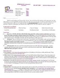 hostess letter