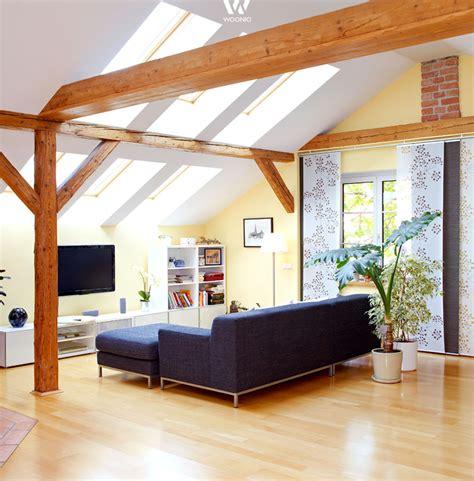 Esszimmer Le Holzbalken by Einfaches Gem 252 Tliches Wohnzimmer Mit Tollen Holzbalken