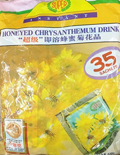 Honeyed Chrysanthemum Drink 630g instant honeyed chrysanthemum honey drink 35 sachets pack of 2 buy in uae