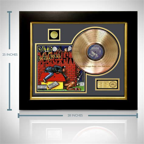 Snoop Dogs Criminal Record Gold Lp Record Snoop Style T