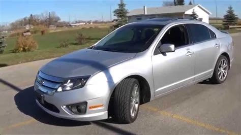 2011 Ford Fusion Prices Reviews 2011 Ford Fusion Sel V6 Awd Review Start Up And Walkaround