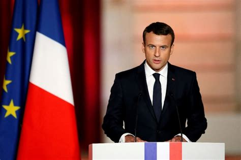 macron s france attracts english speaking tech start ups global french president macron s top quotes at inauguration