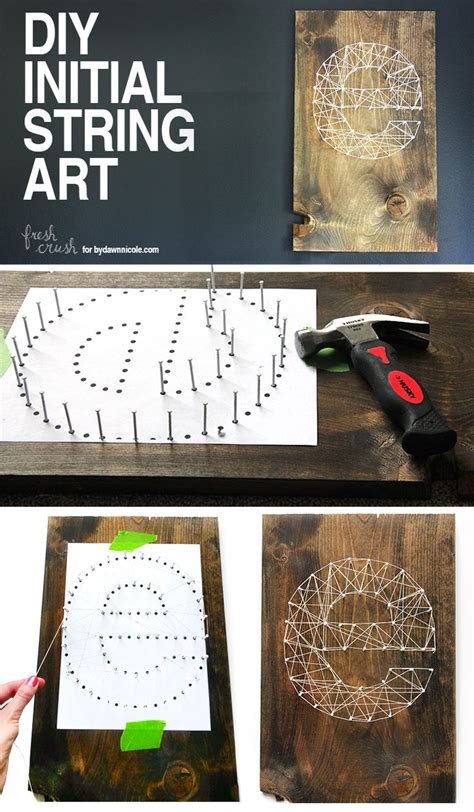 The Beautiful String Book - 25 best ideas about string letters on