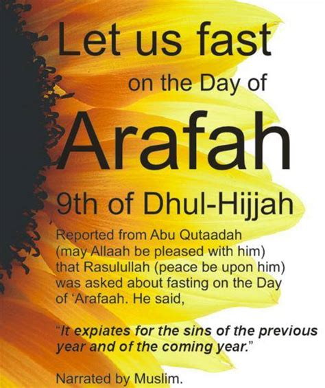 fasting day the month of dhul hijjah islam the religion of peace
