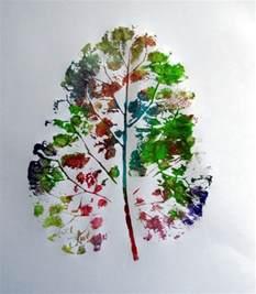 painted leaf prints munchkins and mayhem