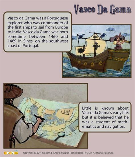 vasco da gama history vasco da gama a portuguese explorer history mocomi