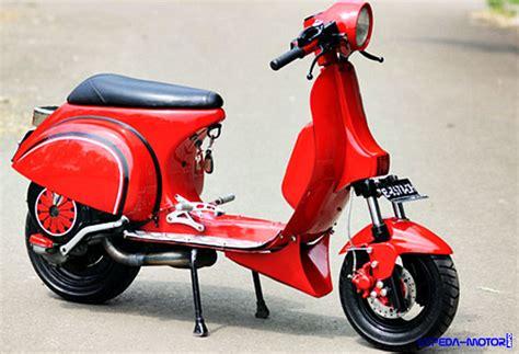 Modifikasi Vespa Ps Racing ini dia cara modifikasi vespa px jadi racing info sepeda