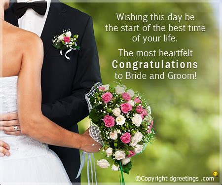 Wedding Messages Of Congratulation by Congratulations Messages Congratulations Sms Wedding
