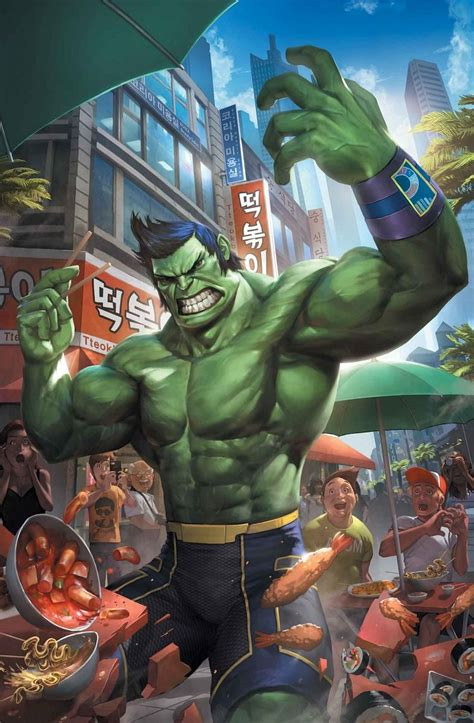 preview  totally awesome hulk   pak cho