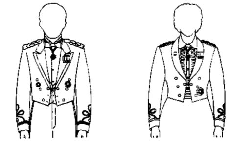 placement of medals on army dress mess uniform wear of the order of military medical merit medallion