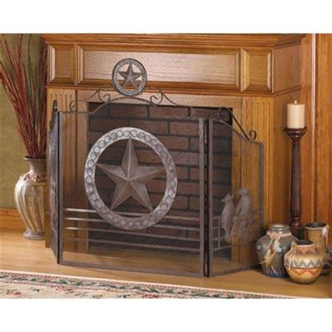 Western Star Home Decor by Texas Star Fireplace Screen Western Home Decor Living Room