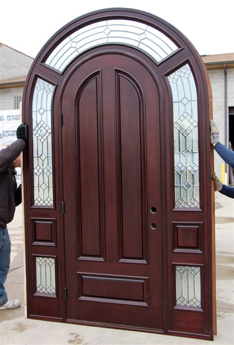 Arched Doors Exterior Arched Exterior Door With Sidelights Cl 20