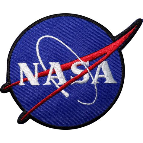 Patchwork Iron - nasa embroidered iron sew on patch astronaut fancy dress