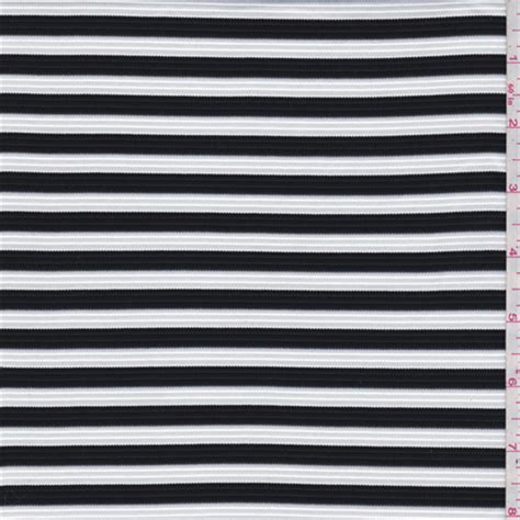 black and white striped ottoman black white stripe ottoman knit 45309 discount