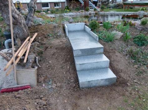 garten treppenstufen setzen gartentreppe selber bauen 40 beispiele