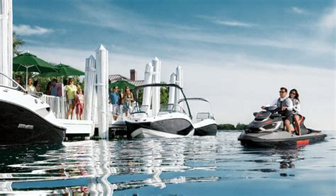 do sea doo boats have reverse how to dock your pwc personal watercraft