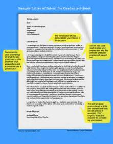 Letter Of Intent Template Graduate School by How To Write A Letter Of Intent For Graduate School Ehow